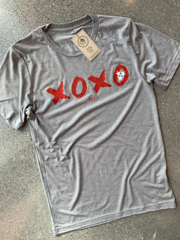 The XOXO TN Tee - Grey