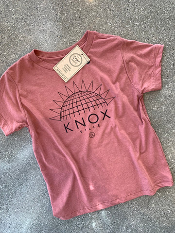 The Knoxville Sunset Kids tee - Mauve