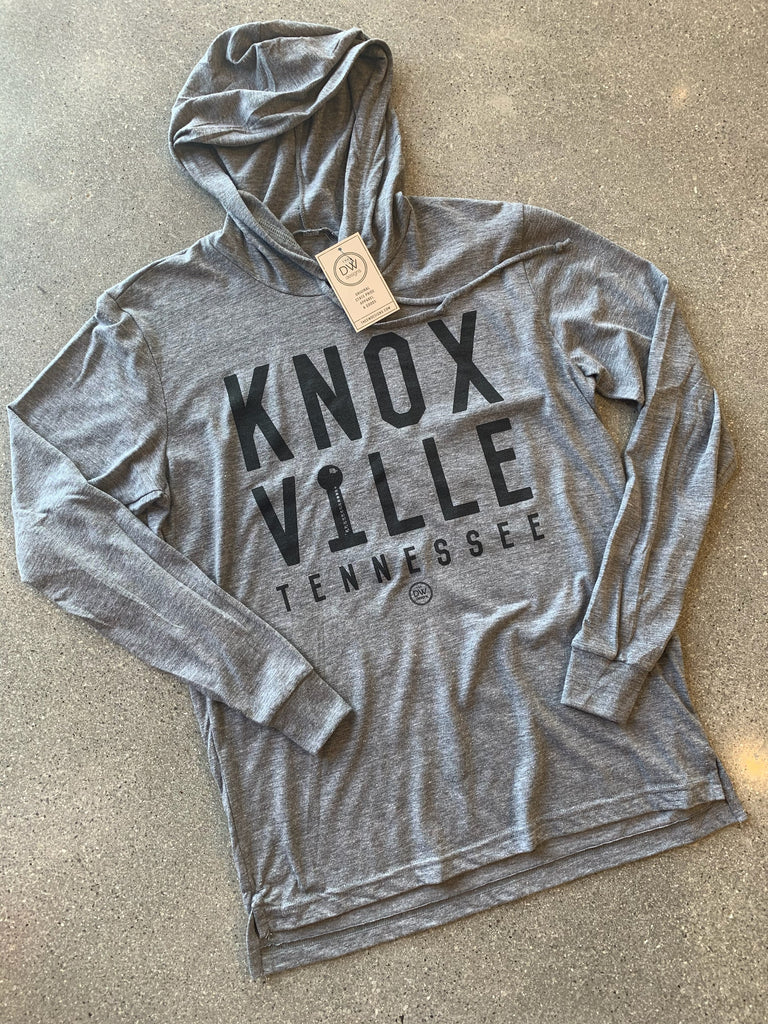 The Knoxville Stacked Tee Hoodie - DWC