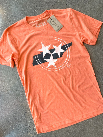 The Tristar State Tee - Melon