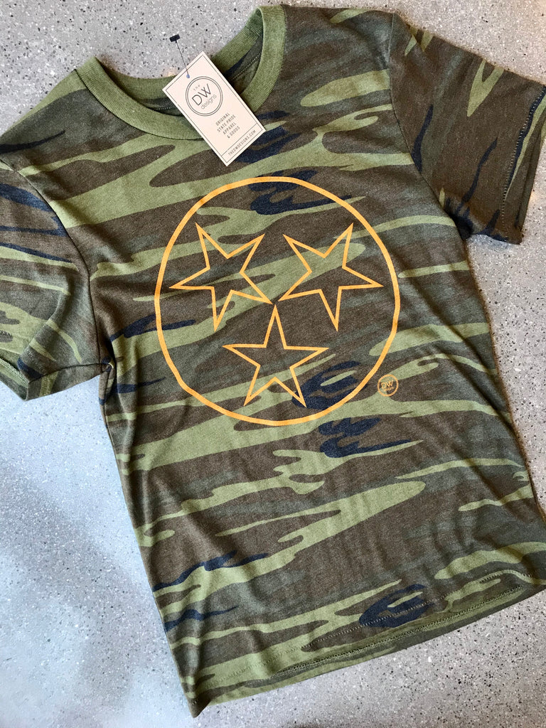 The Tristar Outline Camo Tee