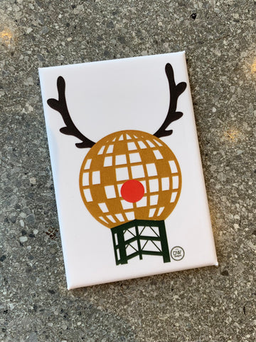 The Sundeer Christmas Magnet