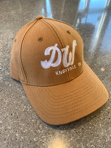 The DW Hat - Canvas Brown