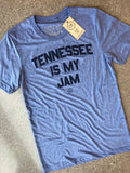 The Tennessee is My Jam Tee - Blue