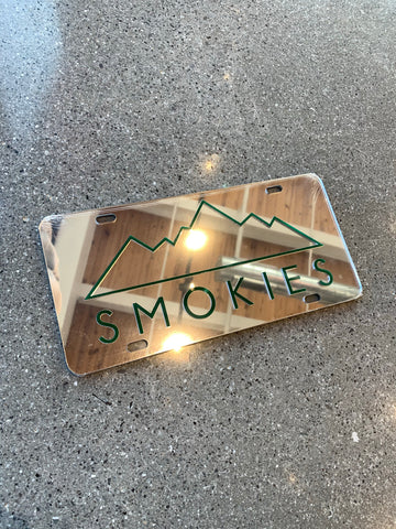 The Smokies License Plate