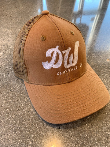 The DW Trucker Hat - Canvas Brown