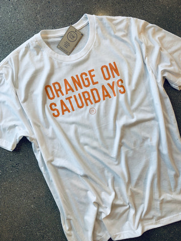 The Saturday Tee - White