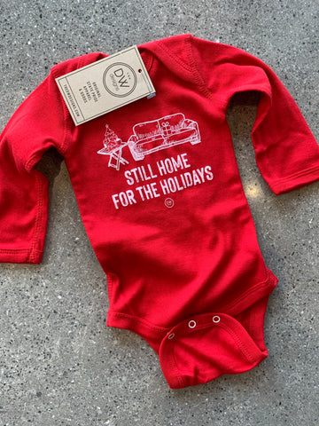 The Still Home Holidays Onesie