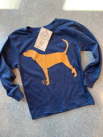 The Hound Dog Kids Long Sleeve Tee