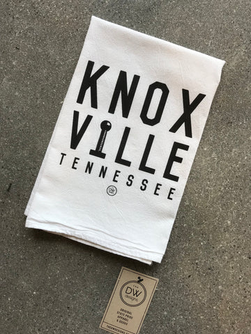 The Knoxville Stack Tea Towel (20 x 20)