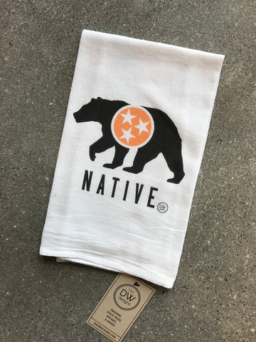 The Native Tea Towel (20 x 20)