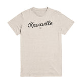 The Knoxville Script Tee - Oatmeal - DWC