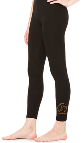The Tristar Outline Leggings - Black