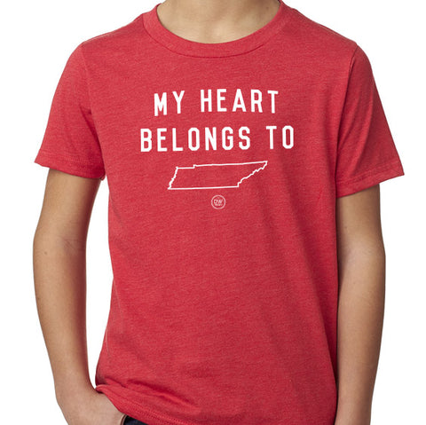 The My Heart Belongs To Kids Tee