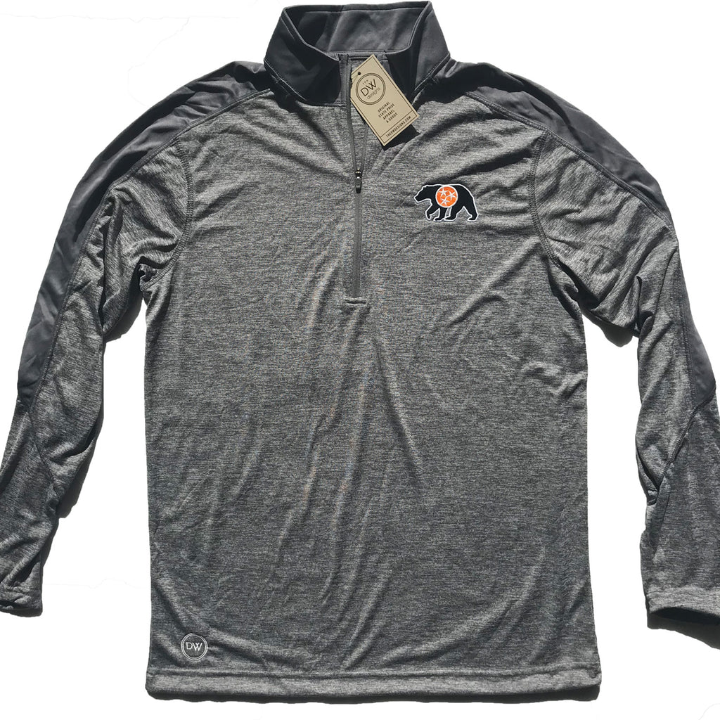 The Native Bear Half-zip
