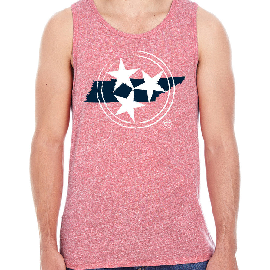 The Tri-Star State Tank - Red