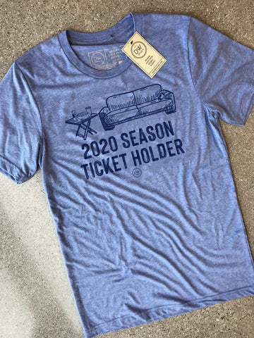 The 2020 Season Ticket Tee - Blue