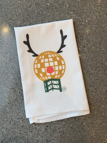 The SunDeer Christmas Tea Towel (20 x 20)