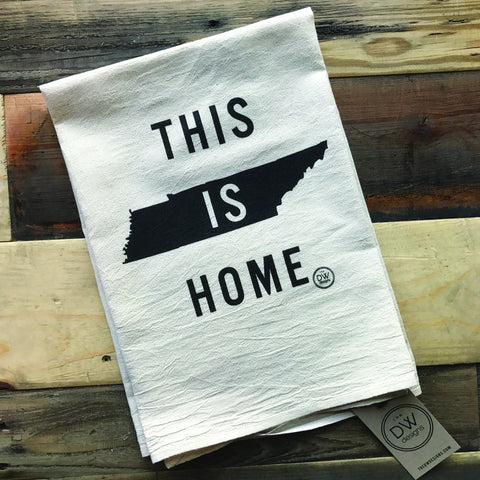 The This is Home Tea Towel