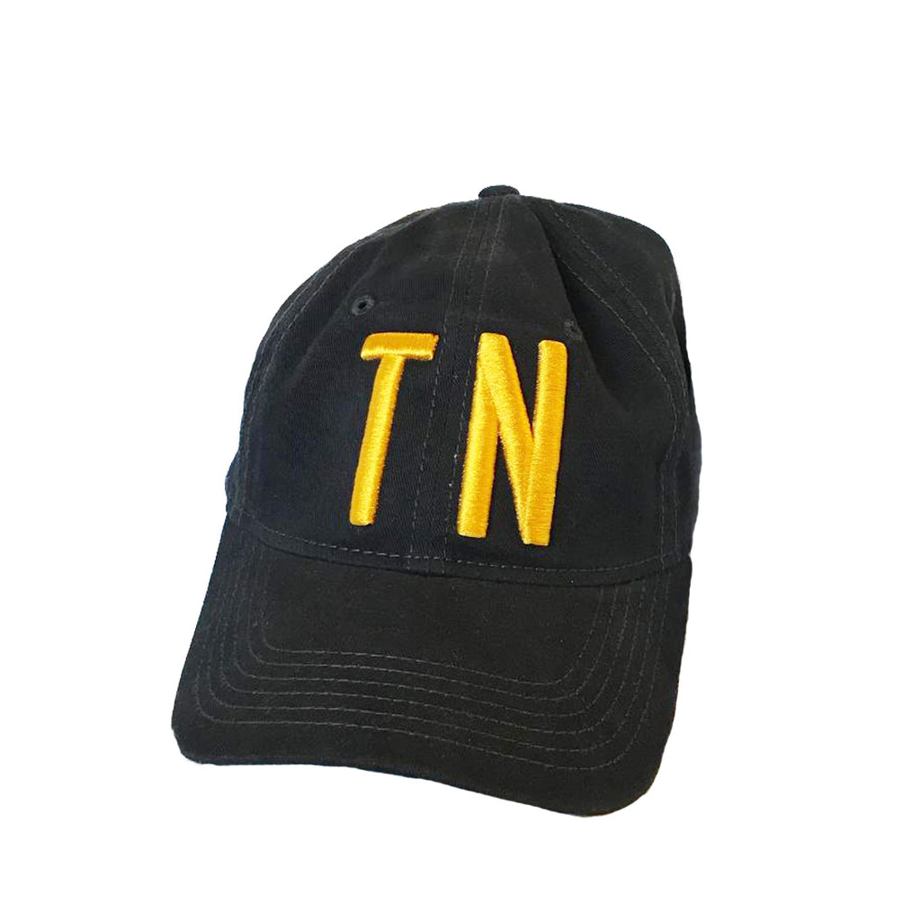 The TN Navy Hat - Gold