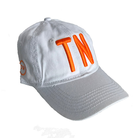 The TN White Hat - Orange