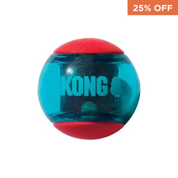 KONG Squeezz® Action Ball Red