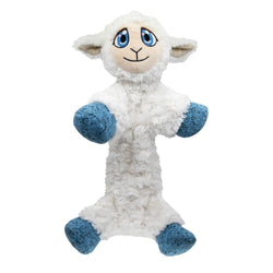 KONG Low Stuff Flopzie Lamb Medium White