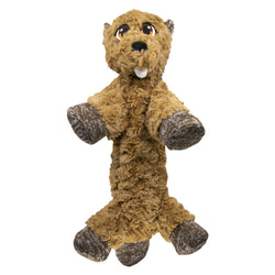 KONG Low Stuff Flopzie Beaver M, Brown