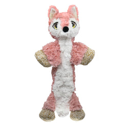 KONG Low Stuff Flopzie Fox M, Coral