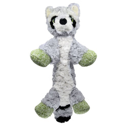KONG Low Stuff Flopzie Raccoon M, Gray