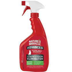Advanced Stain & Odor Eliminator for Cats, Spray (32 oz)