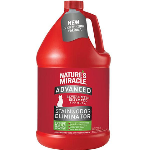 Advanced Stain & Odor Eliminator for Cats, Pour (1 gal)