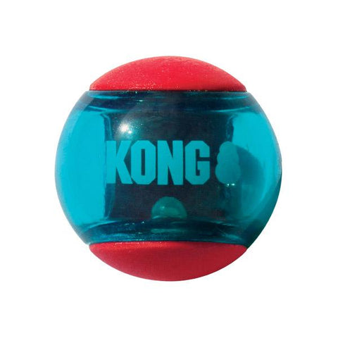 KONG Squeezz Action Balls, Red
