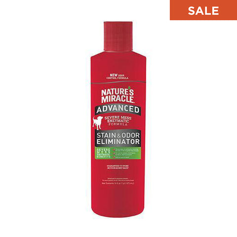 Advanced Stain & Odor Eliminator, Pour (16 oz)