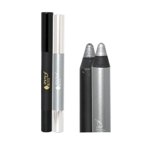 Fruit Pigmented Cream Stick Eye Liner Duo: Black Pearl + Pewter