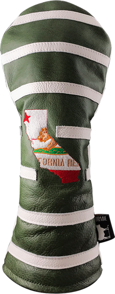 Dormie Workshop CALIFORNIA STATE LINES Leather Golf Headcover