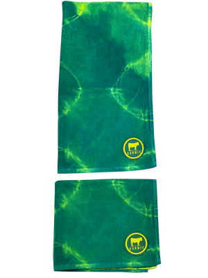 Spring Collection Club Caddie Tie Dye Towel