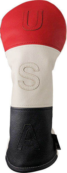 Dormie Workshop USA 3 Panel Leather Golf Headcover