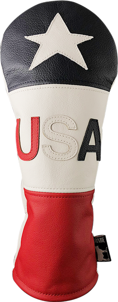 Dormie Workshop USA 3 Panel v.2 Leather Golf Headcover