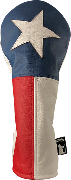Dormie Workshop Walker Texas Driving Ranger ! Leather Golf Headcover