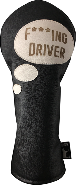 Dormie Workshop F***ing Driver #1 Leather Golf Headcover