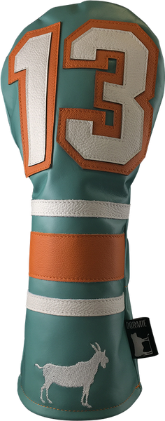 Dormie Workshop THE G.O.A.T TEAL Leather Golf Headcover