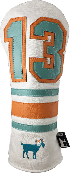Dormie Workshop THE G.O.A.T 13 Leather Golf Headcover