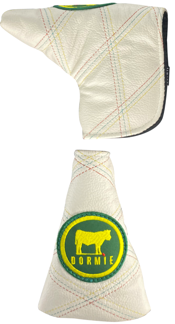 Bentgrass Quilted Putter Cover