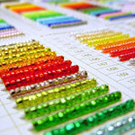 Rocaille Size 8 Glass Seed Beads by Miyuki
