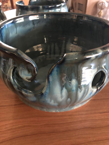 Anything but Basic Yarn Bowl by Spring Street Pottery