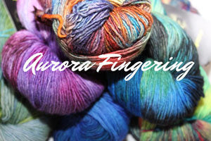 Aurora Fingering by MJ Yarns