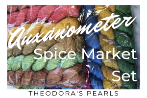 Auxanometer On The Spice Market Set by Theodora's Pearls