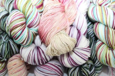 80/20 Merino/Silk 2-ply Sock Yarn by Apothefaery Luxury Fibers