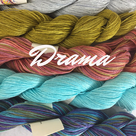 Drama by Claudia Hand Painted Yarns